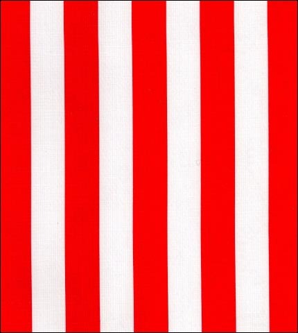 Stripe Red Oilcloth