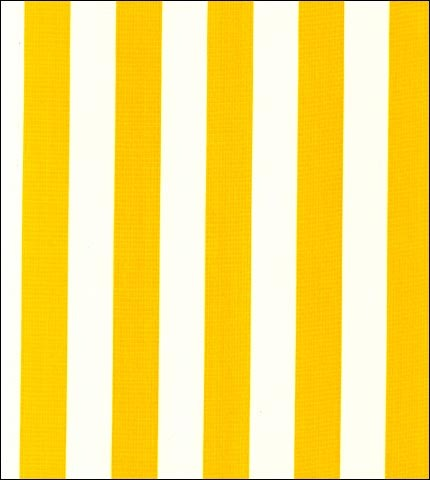 Cabana Stripe Yellow Oilcloth