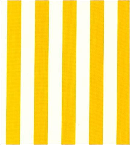 Stripe Yellow Oilcloth Roll