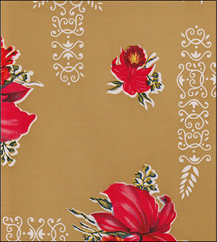 Orchid Tan Oilcloth By The Yard