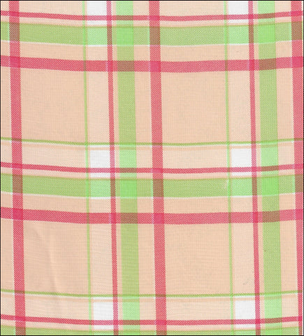 Plaid Pink and Lime