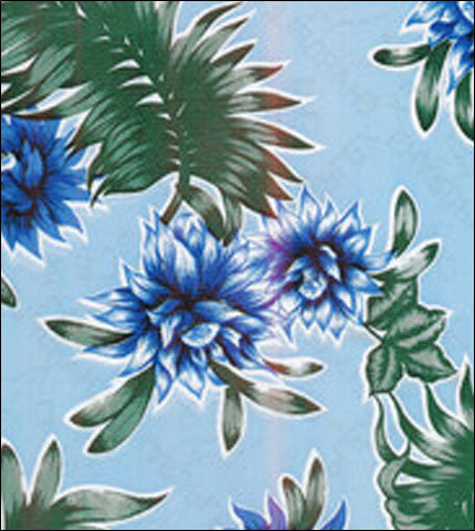 Tropical Flower Blue