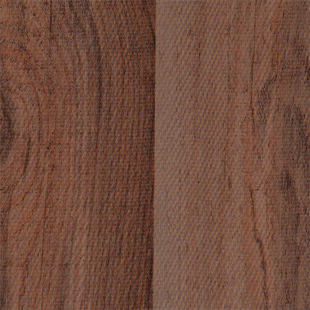Faux Bois - Plank Mahogany Oilcloth Fabric