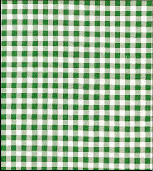 Gingham - Grass Green Oilcloth