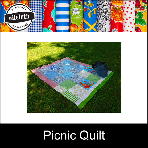 DIY Picnic Quilt SALE 2 for 1