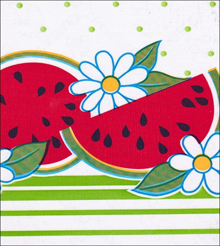 Watermelon Lime Oilcloth