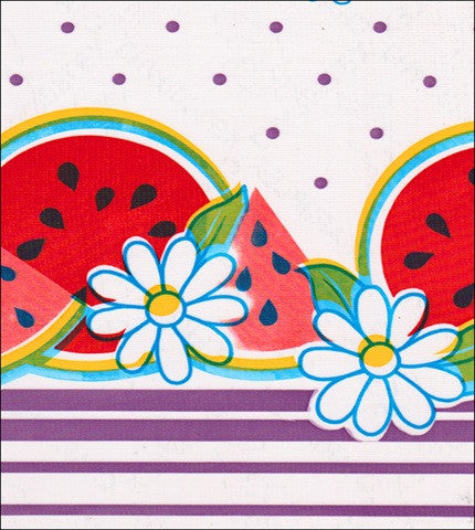 Watermelon Purple Oilcloth