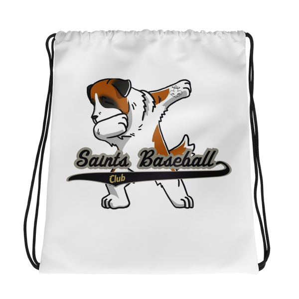 Saints Baseball Drawstring bag