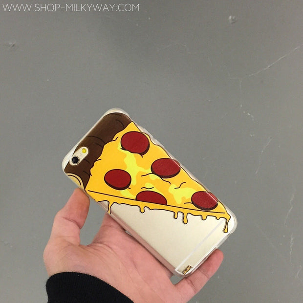 Pizza Slice - Clear TPU Case Cover