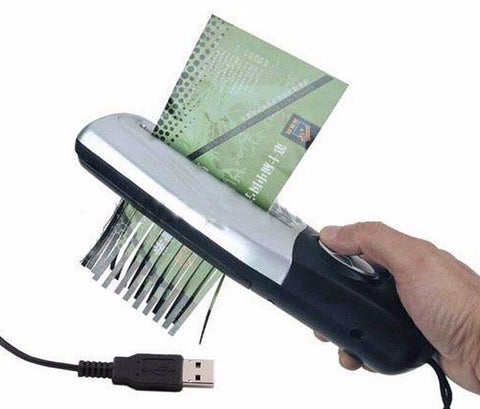 Mini Portable Handheld Paper Shredder