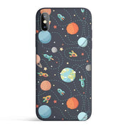 Space Case - Colored Candy Cases Matte TPU iPhone