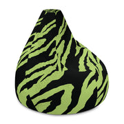 All-Over Print Bean Bag Chair w/ filling.  V[o]A logo on bottom.