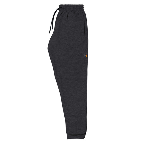 Comfy Joggers.  Small V[o]A logo on left side.
