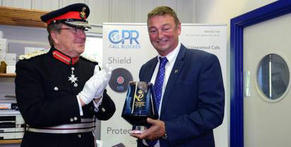 CPR Wins the Queen's Award