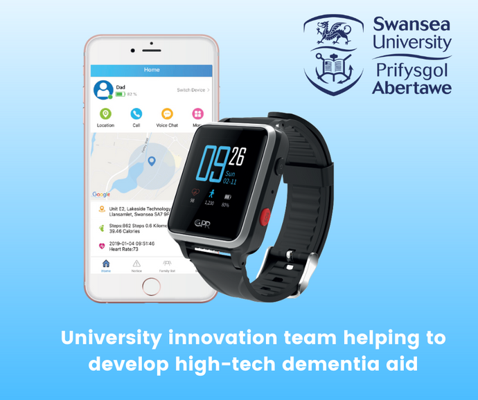 University innovation team helping to develop high-tech dementia aid with the CPR Guardian