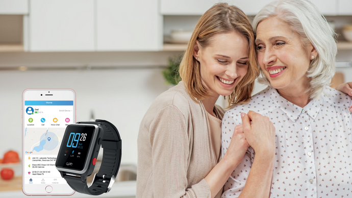 How personal alarms are helping the sandwich generation maintain a healthy balance between looking after their children and elderly parents