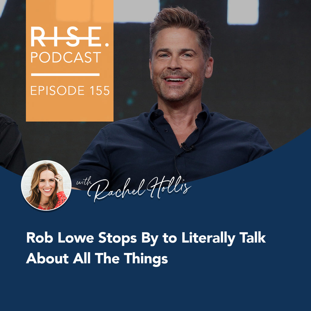 Rob Lowe Stops By to Literally Talk About All The Things