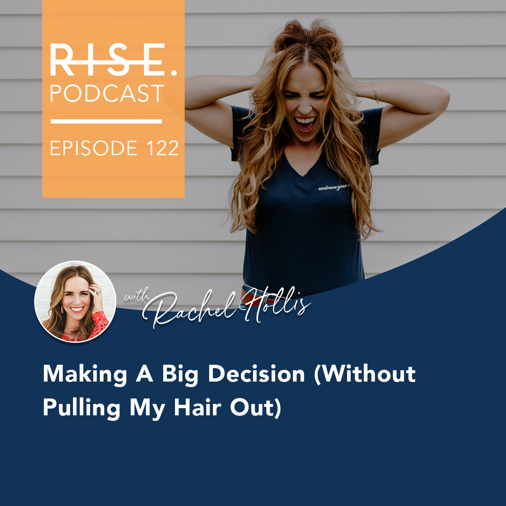 Making a Big Decision (Without Pulling Your Hair Out)