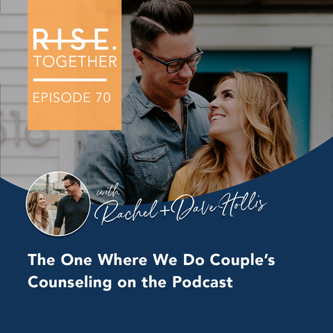 The One Where We Do Couple's Counseling on the Podcast