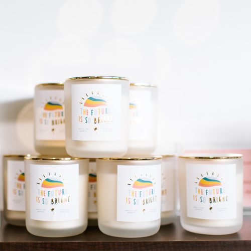 FUTURE IS SO BRIGHT CANDLE - The Hollis Co