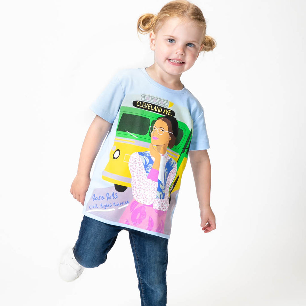 ROSA PARKS TRAILBLAZER KID'S TEE