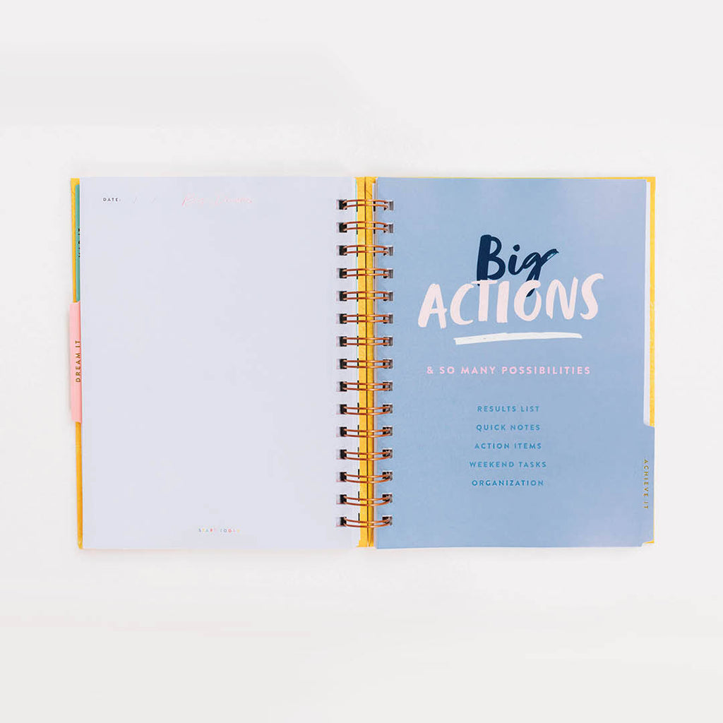 START TODAY NOTEBOOK