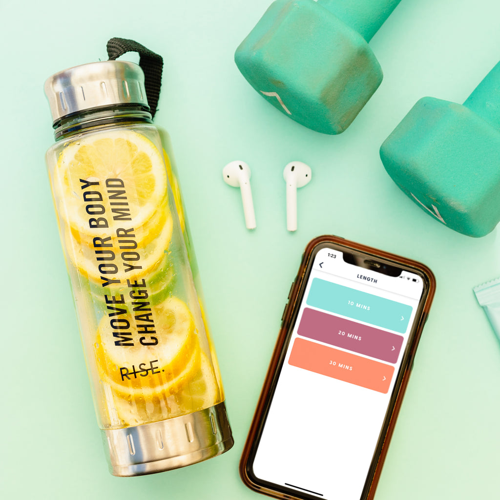 MOVE YOUR BODY WATER BOTTLE - Hollis Co