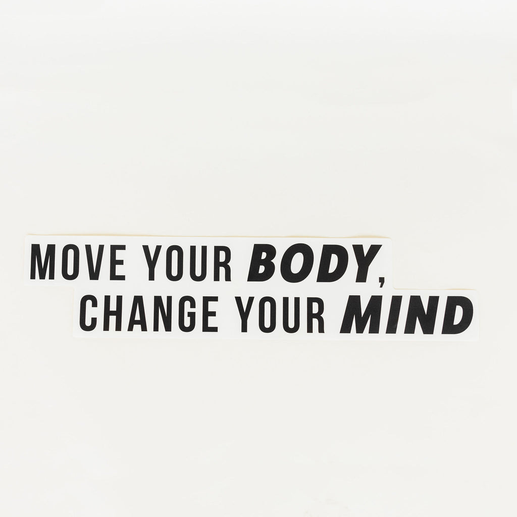 MOVE YOUR BODY WALL DECAL - Hollis Co