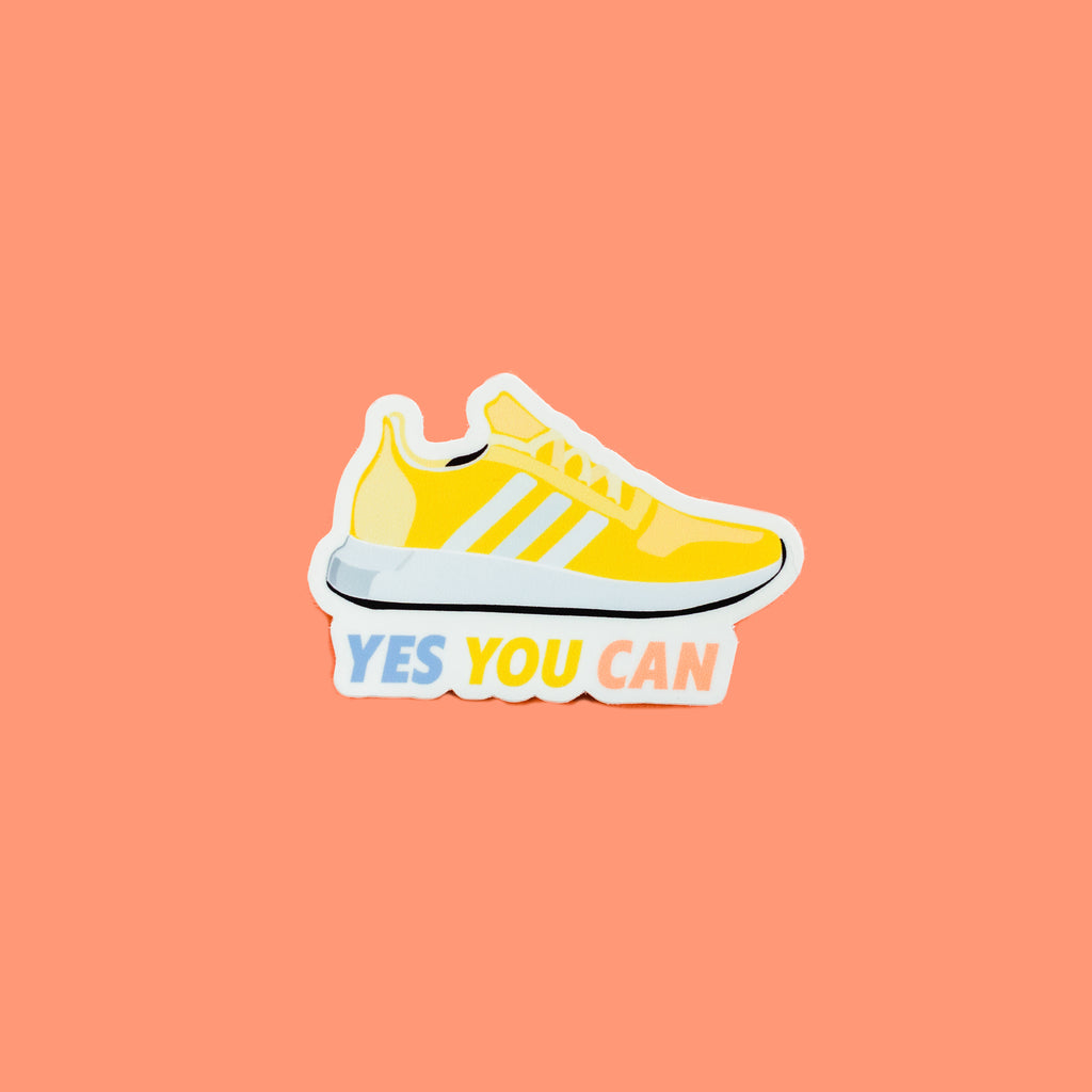 YES YOU CAN STICKER - Hollis Co