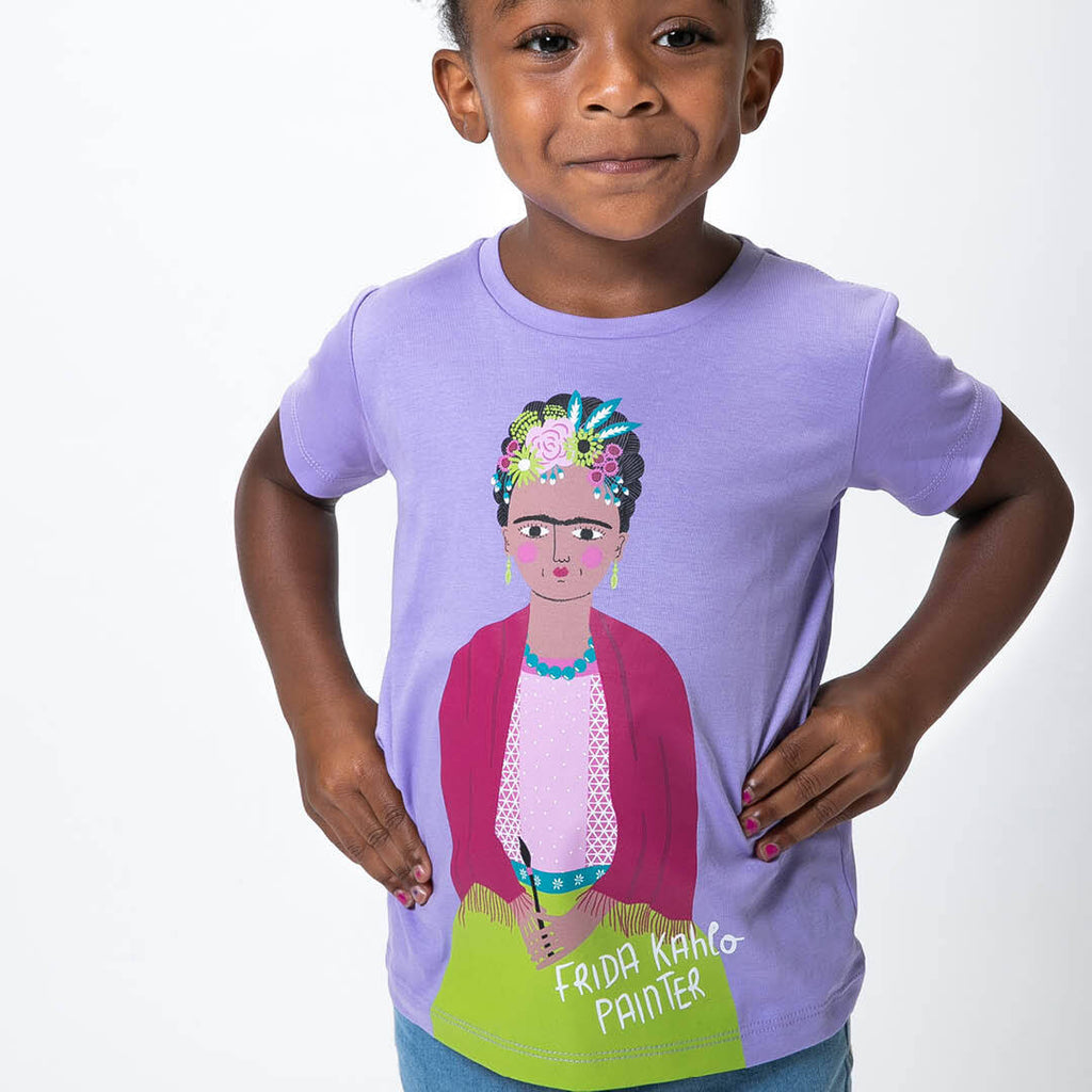 FRIDA KAHLO TRAILBLAZER KID'S TEE