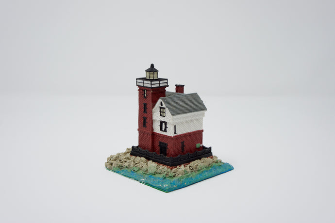 Round Island Lighthouse Sculpture