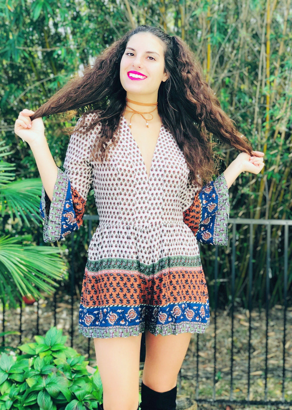 "The ""Bohemian Gypsy"" Romper"