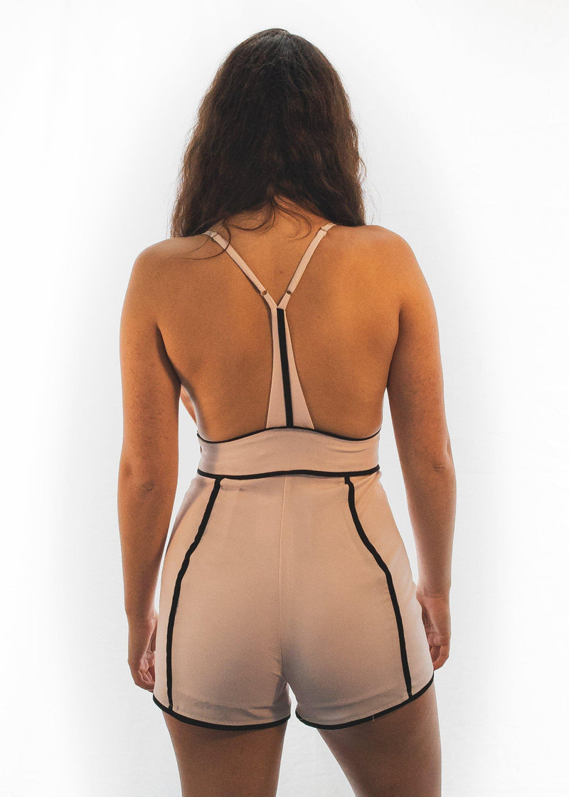 "The Pink ""Alluring"" Romper-Luminous Sky Boutique"