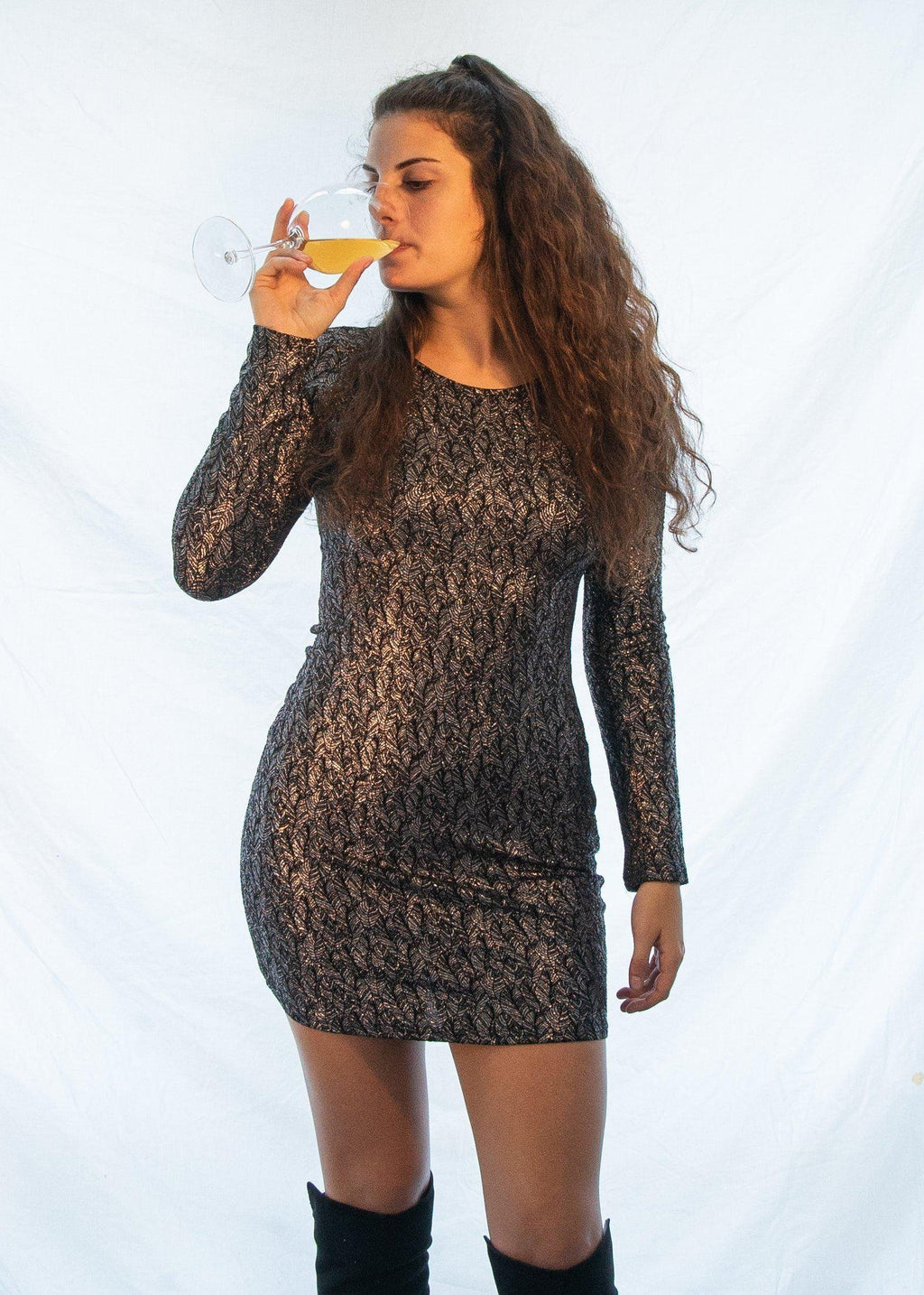 "The ""New Years Ready"" Dress-Luminous Sky Boutique"