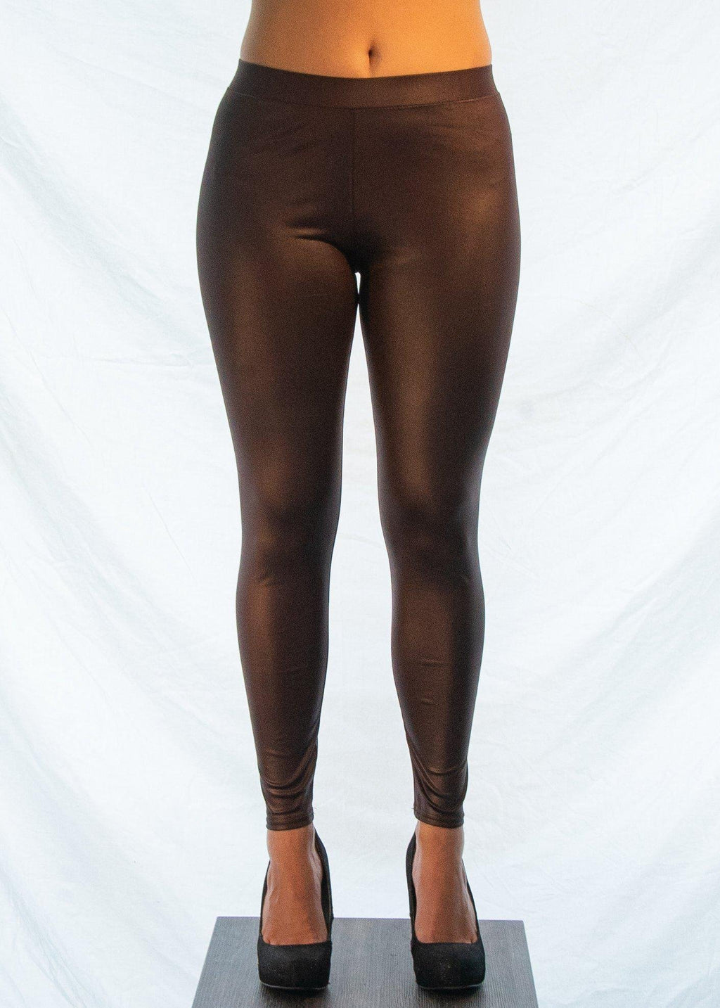"The Maroon ""Biker Chick"" Leggings-Luminous Sky Boutique"