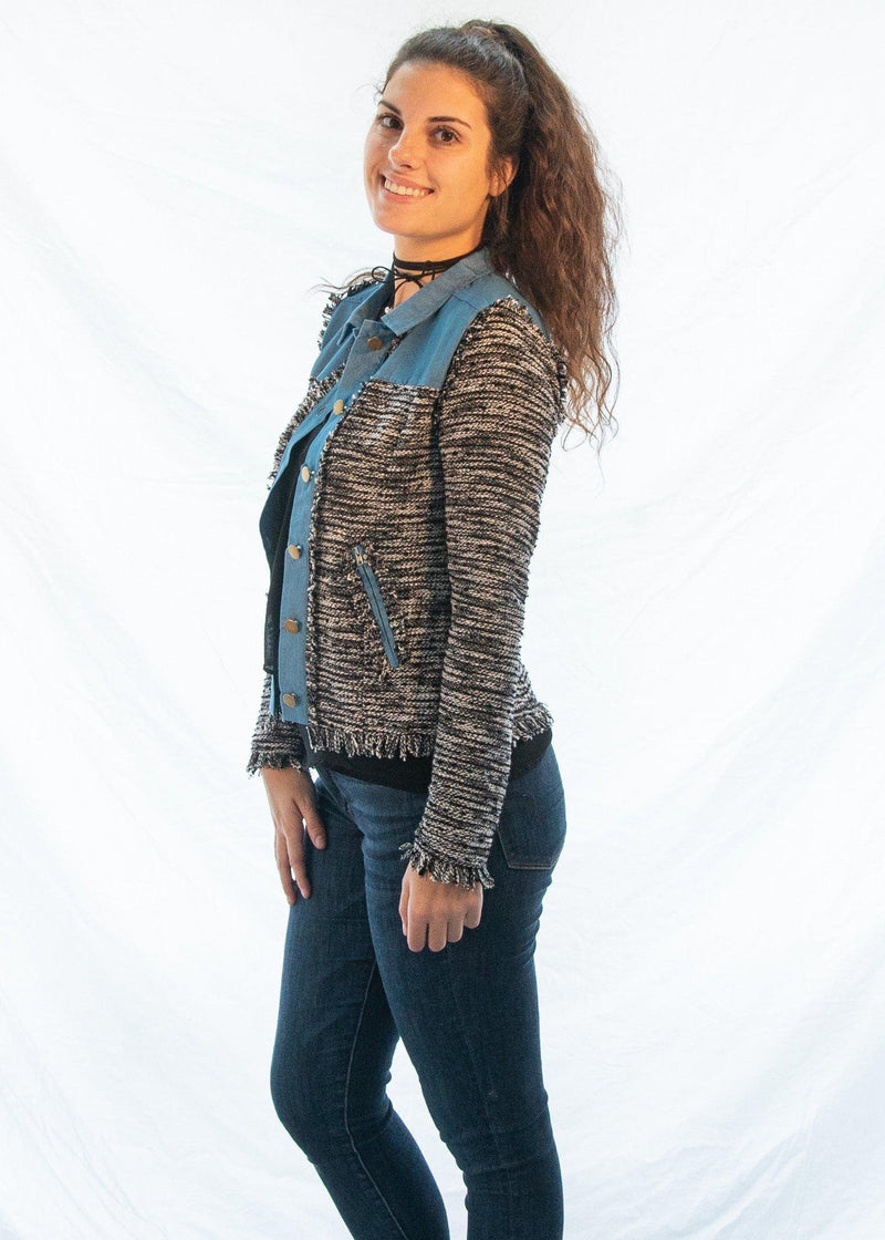 "The Tweed ""High Class"" Jacket-Luminous Sky Boutique"