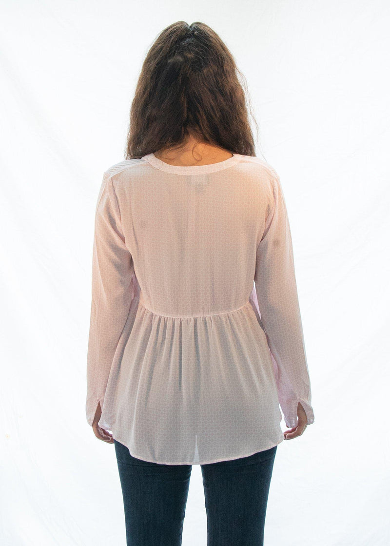"The Pink ""Cotton Candy"" Blouse-Luminous Sky Boutique"