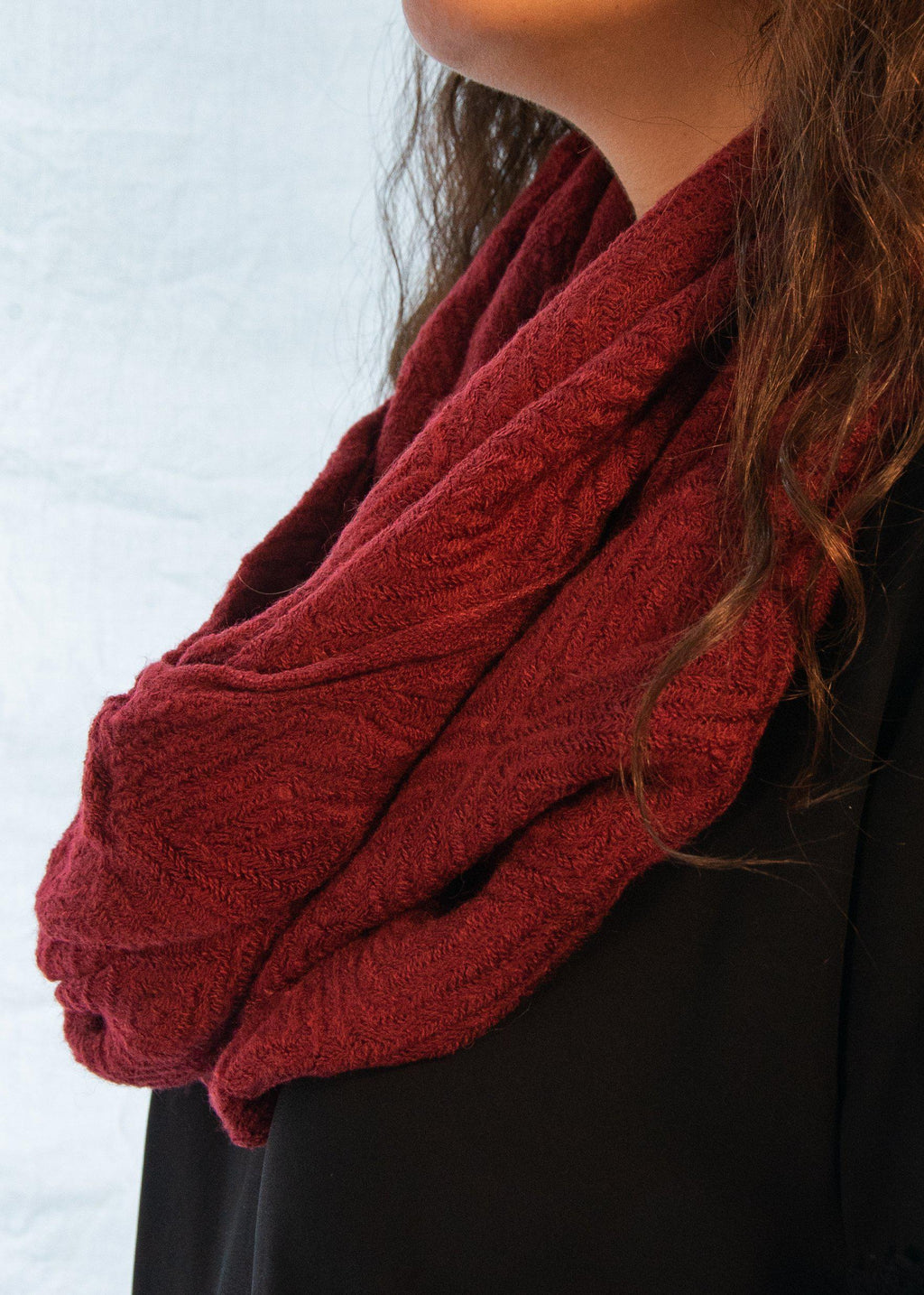 "The Super Soft ""Red Wine"" Scarf-Luminous Sky Boutique"