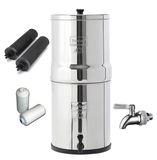 TRAVEL Berkey w/ Fluoride Filters (S.S Spigot)