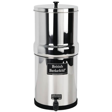 British Berkefeld Filter w/4 Ceramic Elements (2.25 gal)
