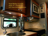 Travel Berkey water filter for RV, dorm  or home , berkey water USA