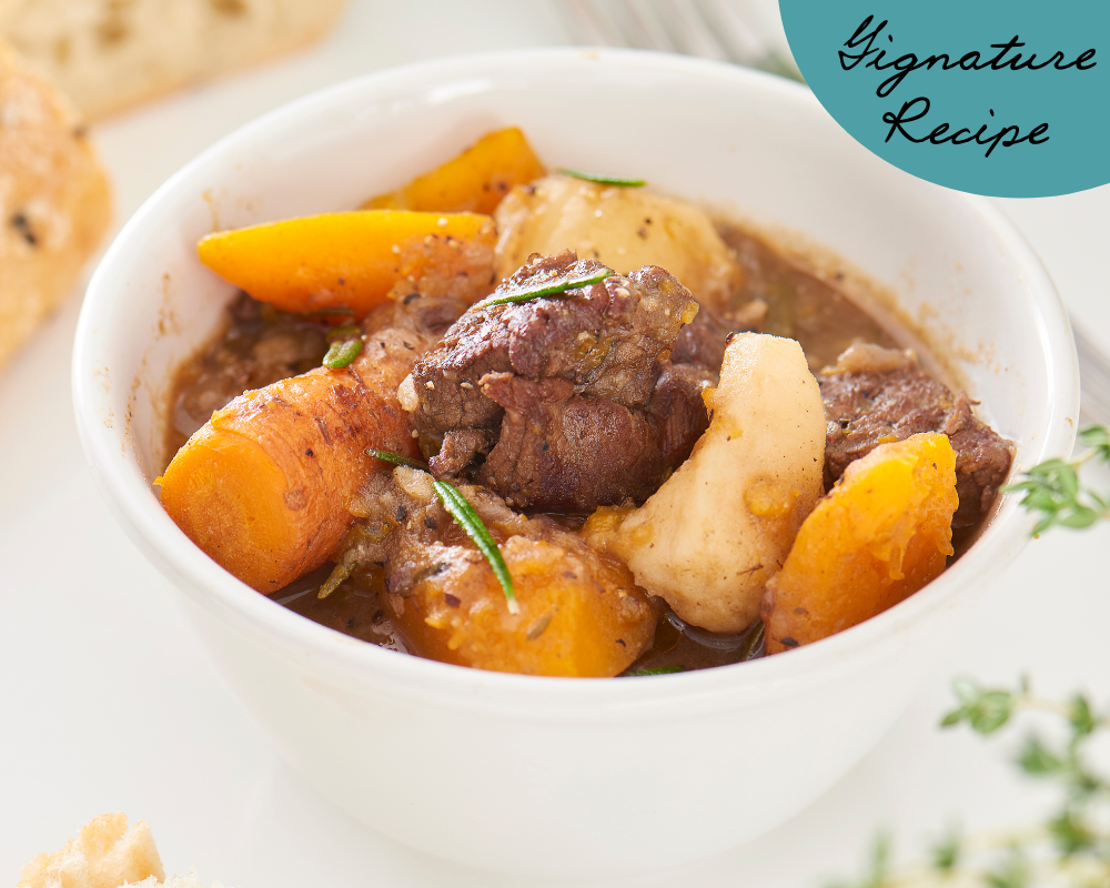 Hearty Homemade Beef Stew for Pups