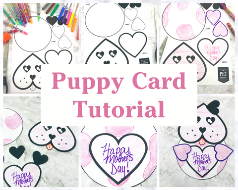 Mother's Day Puppy Card - Craft for Kids