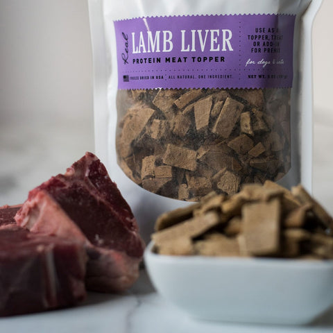 Freeze Dried Lamb Liver