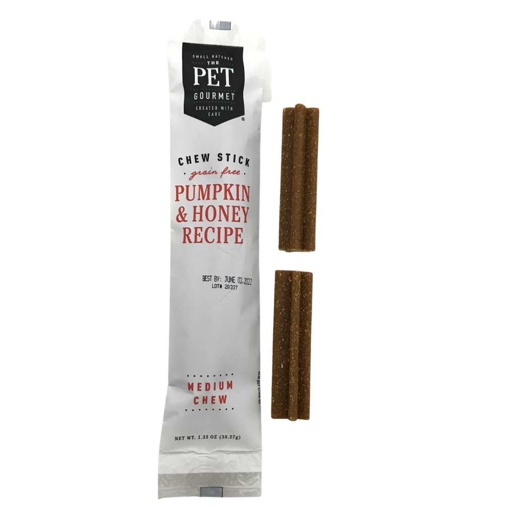 Pumpkin & Honey Chew Sticks