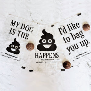 Eco-Friendly Poop Bags - 6 Refill Rolls