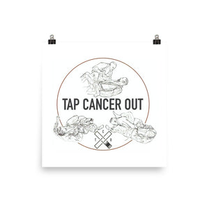 Tap Cancer Out print