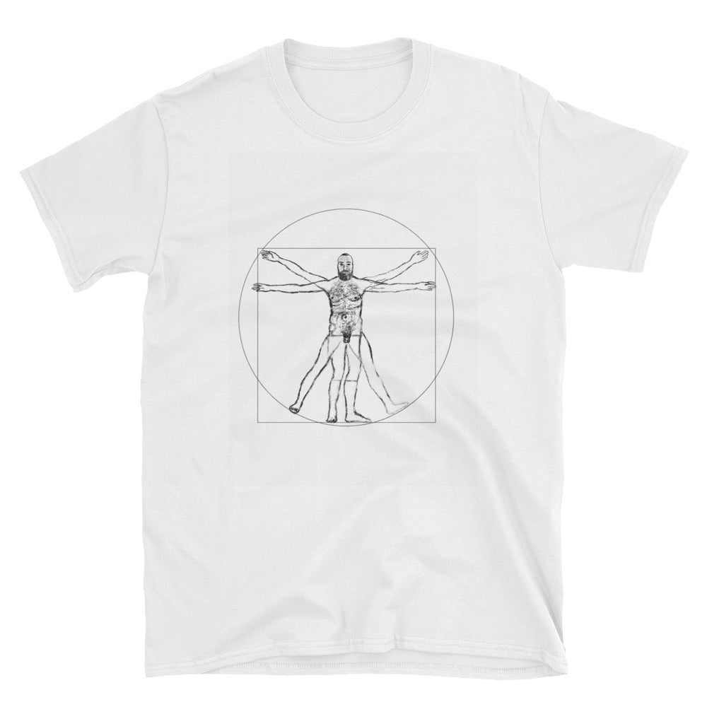 Hairy Vitruvian Man