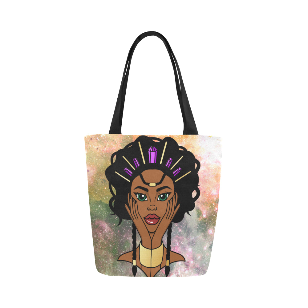 Enlightened Soul  -  Custom Afrocentric Tote Bag