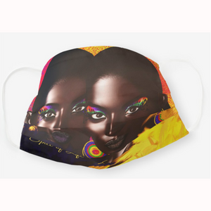 Spice of Life Afrocentric Face Mask